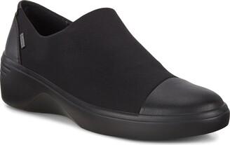 Ecco Soft 7 Gore-Tex(R) Waterproof Wedge Sneaker