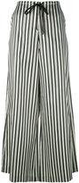 McQ striped palazzo trousers