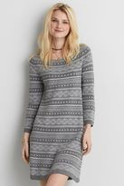 American Eagle Outfitters AE Fair Isle Sweater Dress
