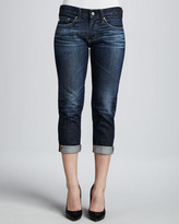 AG Adriano Goldschmied Piper Cuffed Skinny Jeans