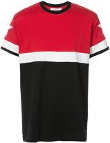 Givenchy Cuban-fit paneled T-shirt - men - Cotton - XXS