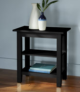 L.L. Bean Painted Cottage Two-Shelf Side Table