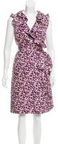 Kate Spade Printed Silk Dress