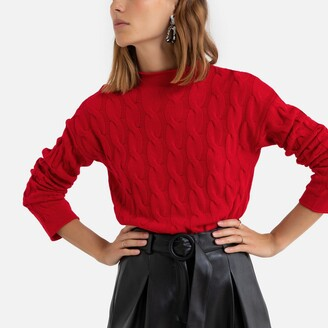 Benetton Cable Knit Jumper