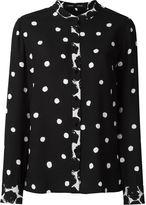Proenza Schouler polka dot shirt - women - Viscose - 4