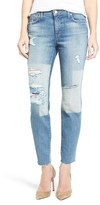 Joe's Jeans Women's Icon Destroyed Ankle Skinny Jeans