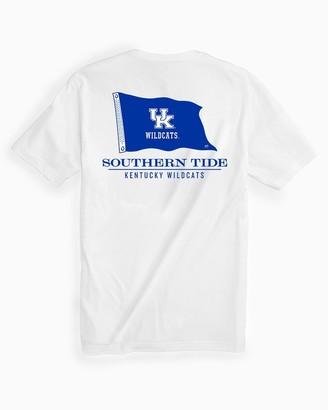 Southern Tide Kentucky Wildcats Short Sleeve Flag T-Shirt