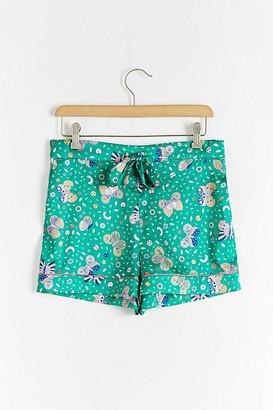 Sleepy Wilson Silk Pyjama Shorts