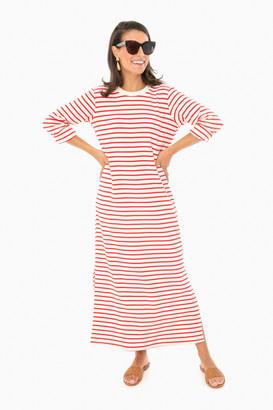 Pomander Place Red Stripe Gio Maxi Dress