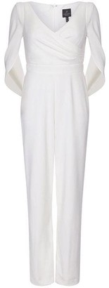 Adrianna Papell Jumpsuit Long Sleeves