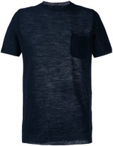 Roberto Collina perforated detail T-shirt