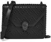 Bvlgari + Nicholas Kirkwood Embellished Leather Shoulder Bag - Black