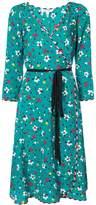 Marc Jacobs Floral Wrap Dress