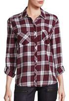 Soft Joie Joie Lilya Cotton Plaid Shirt