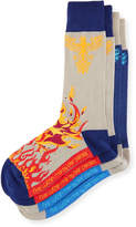 Per Pedes Two-Pair Fire Within Me Sock Set