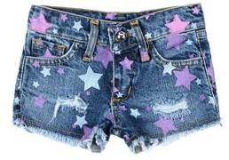 MISS LULU Denim shorts