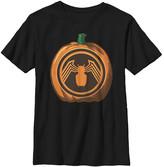 Fifth Sun Boys' Tee Shirts BLACK - Venom Black Pumpkin Tee - Boys