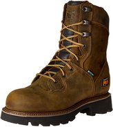 Timberland Men's 8 Inch Crosscut WP Soft Toe Logger Work Boot