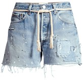 Riley Dukes Cut-Off Distressed Jeans Shorts