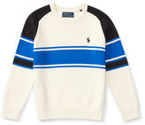 Ralph Lauren Striped Cotton Sweater