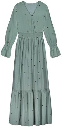 HOLZWEILER Green Viscose Dresses