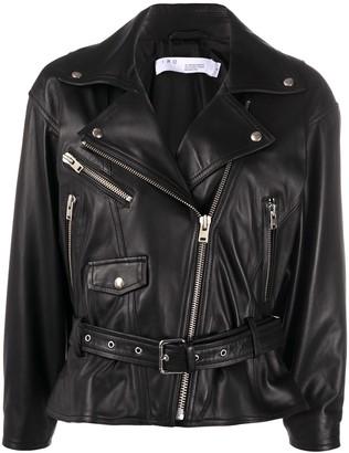 IRO Belted Biker Jacket