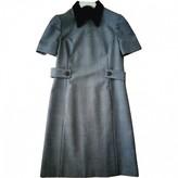 Prada Grey Wool Dress for Women