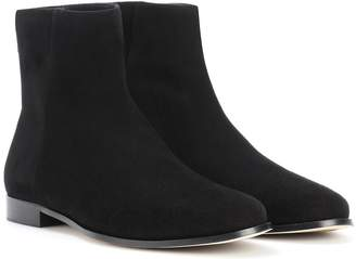 Jimmy Choo Duke Flat suede ankle boots