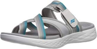 Skechers Women's ON-The-GO 600-SUMMIT Slide Sandal