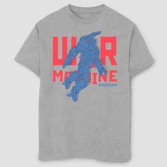 Marvel Boys' Text Pop Machine Short Sleeve Graphic T-Shirt - Athletic