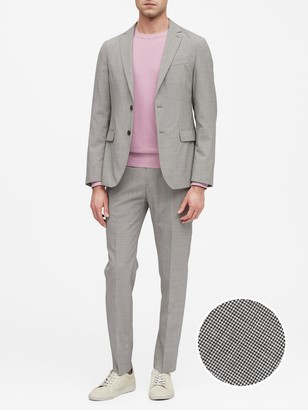 Banana Republic Slim Smart-Weight Performance Suit Jacket with COOLMAX Technology
