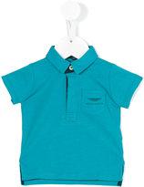 Aston Martin Kids - logo polo shirt - kids - Cotton - 6 mth