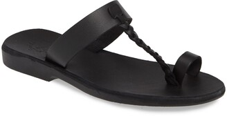 Jerusalem Sandals Ara Toe Loop Slide Sandal