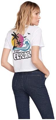 Volcom Florida Tee (White) Women's Clothing