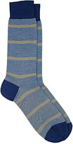 Barneys New York Men's Mixed-Stripe Mid-Calf Socks