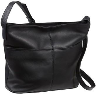 Le Donne Leather Two Slip Pocket Hobo