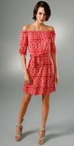 Off Shoulder 3/4 Sleeve Dress