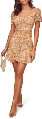 ASTR the Label So Smitten Ruched Minidress