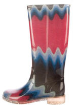 Missoni Printed Rain Boots