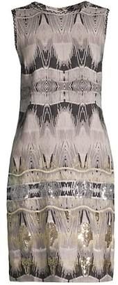 Kobi Halperin Marnie Ikat Linen Dress