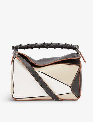Loewe Puzzle Craft small leather shoulder bag