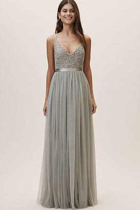 BHLDN Avery Dress By in Green Size 24