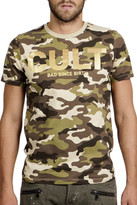 Cult of Individuality Short Sleeve Foil Camo Tee