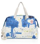Alice + Olivia Basquiat Ascent Cavnas Weekender