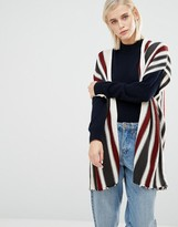 Brave Soul Striped Knit Cardigan