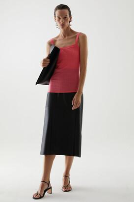 Cos Merino Wool Ribbed Vest