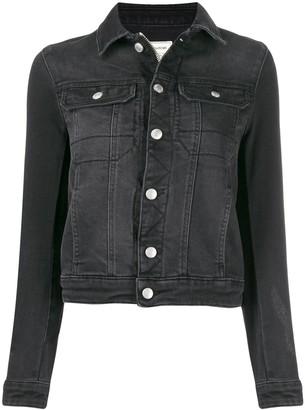 Zadig & Voltaire Zadig&Voltaire Punk embellished custom denim jacket