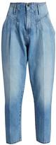 Tre By Natalie Ratabesi Pleated High-Waist Jeans