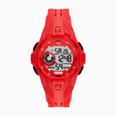 Bold Red Digital Watch