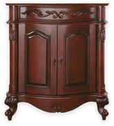 Avanity Provence 30-Inch Bath Vanity Cabinet Without Top and Sink in Antique Cherry